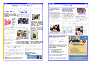 2016 Term 3 MHCC Newsletter page 2.3