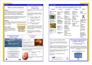 2016 Term 3 MHCC Newsletter page 4.5